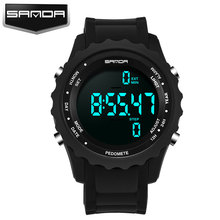 SANDA Running Sport LED Digital Children Watch Kids Watches Girls Boys Clock Child Electronic Wrist Watch for Girl Boy Gift