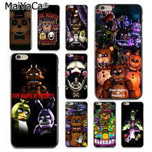Fundas MaiYaCa Cinco Noites No Freddy Novidade macio Telefone Caso Capa para o iphone 8 7 6 6S Plus X XS XR XSMax 5 5S SE Coque Shell(China)