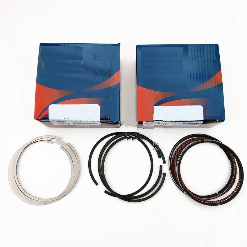 4kits set Pistons Rings set for Chinese SAIC ROEWE 350 MG3 MG5 1 5L engine