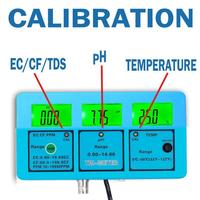 0.1 PH High Accuracy Automatic Calibration Digital Portable pH/ORP/Temp Meter 0.00 14.00PH Water Quality Analysis tester