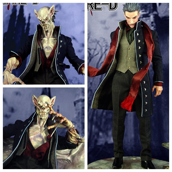 1/6 scale figure doll devil Monster File seires 3 Vampire Dracula 12 action figures doll Collectible model toy soldiers 1 6 scale figure doll final fantasy xii fran 12 action figures doll collectible figure model toy