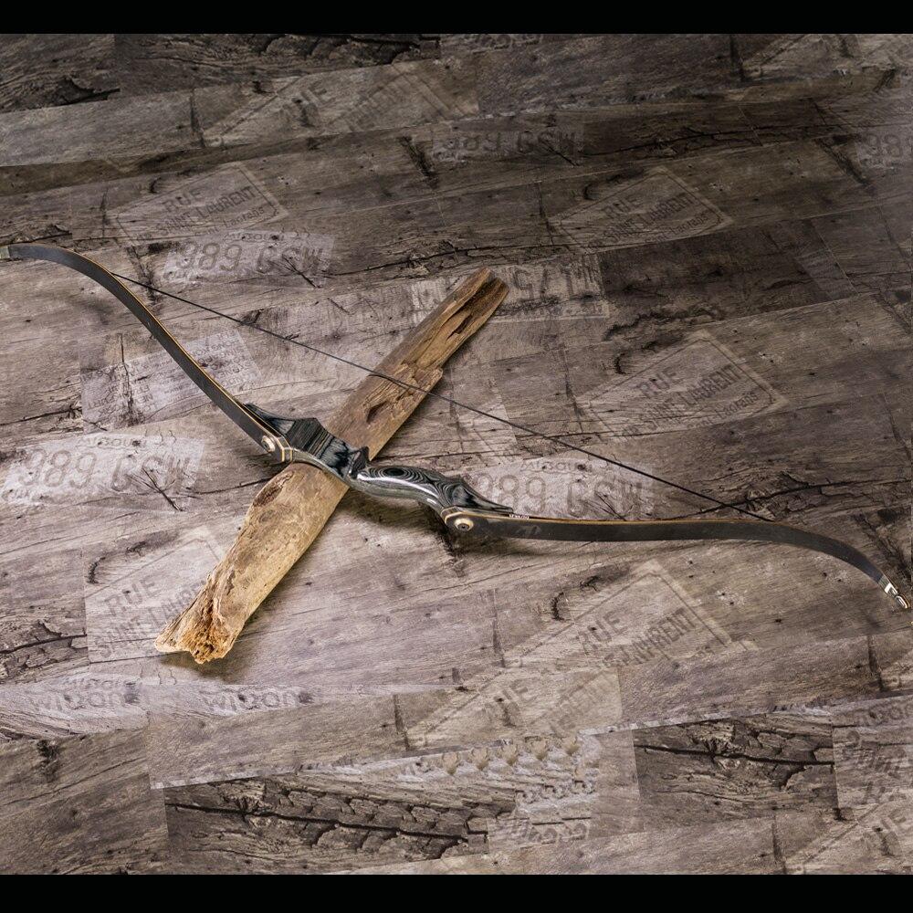 Стрельба из лука китайский Демонтаж Изогнутый Лук черный деревянный для стрельбы и охоты