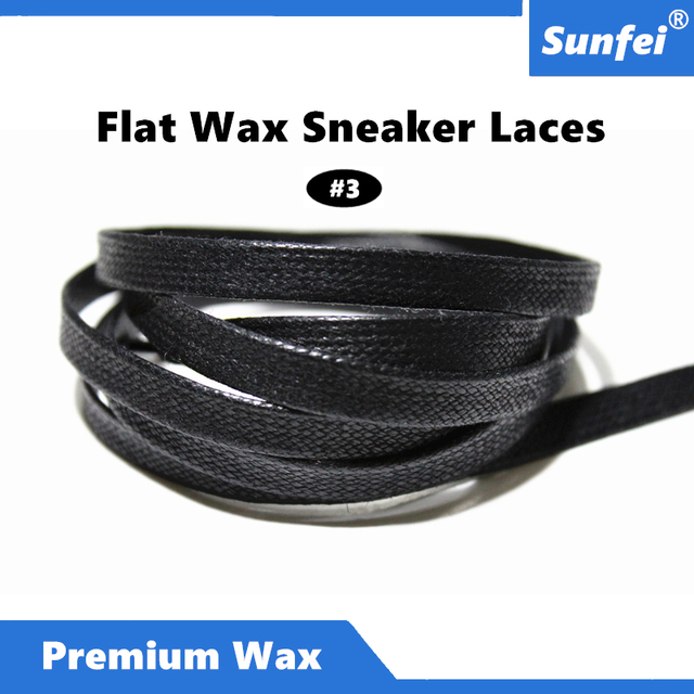 d40fdafaaa05 7mm Premium Flat Waxed Colored Sneaker Dress Shoelaces Flat Dress Canvas  Wax Shoe Laces All sizes in 12 colors~DHL FREE SHIPPING