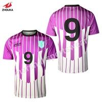 Free shipping custom athletic jerseys sale football shirts OEM any color soccer jersey football shirt maker soccer jerseys Sets