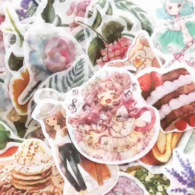 100 יח'\אריזה Kawaii מדבקות רעיונות מדבקת Bullet כתב עת מתכנן מחברת קישוטי ילדים יום הולדת מתנת מכתבים