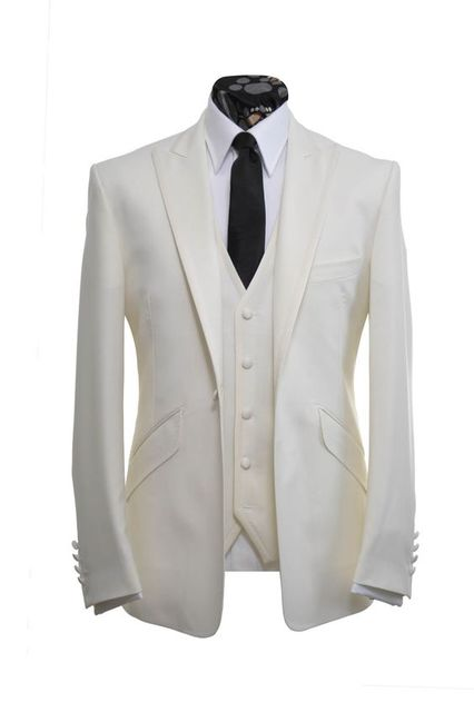 Aliexpress.com : Buy 2017 Latest Coat Pant Designs Cream White ...