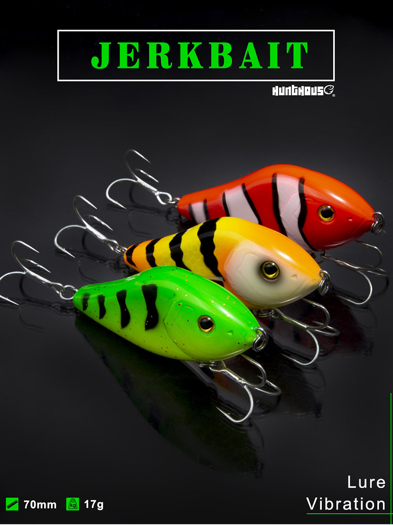 1pc RAINBOW TROUT 1//3oz Lipless CRANKBAIT Bass Fishing Lures Trap Rattle Baits