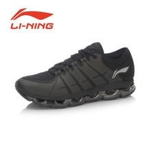 Li-Ning Men's Air Cushioning Running Shoes Li-Ning Arc Light Sneakers Soft Footwear Classic Sports Shoes ARHM015