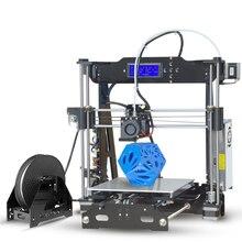 Impressora 3d-принтер prusa i3 P802E дешевые 3d принтеры 220*220*210 размер печати imprimante diy kit Акриловые 3d принтер рамка