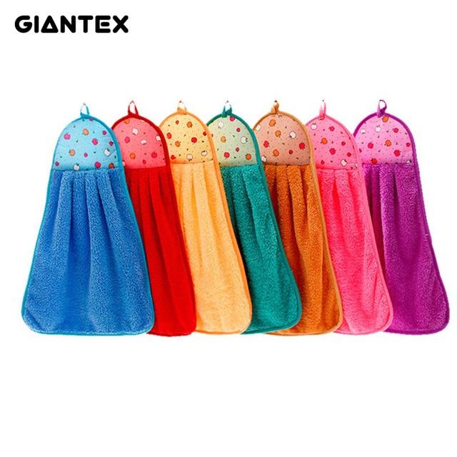 GIANTEX 35x45 cm Del Fumetto Stampato Super Soft Assorbente In Microfibra Mano A