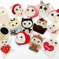 12 PCS Harajuku Acrylic Pin Badge Backpack Decoration Badges Packing Clothes Badges Backpack Beautify Icons Shoes Package Icon