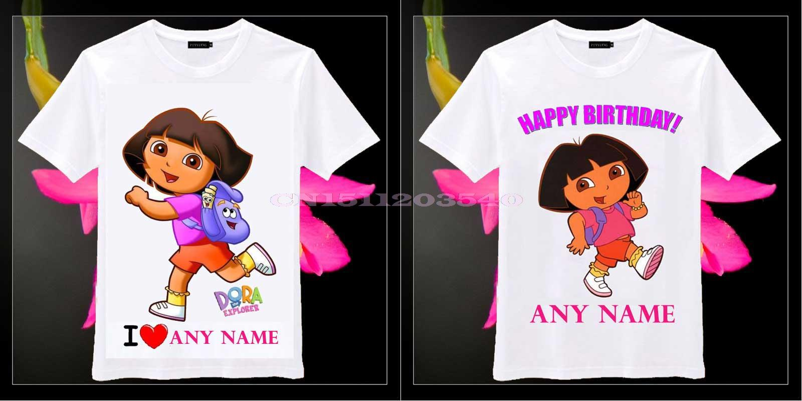 Personalized Toddler Birthday T Shirts