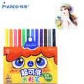 Marco Kids Art Wasbare Aquarel Marker Bullet Tip Gekleurde Aquarel Markers Graffiti Verf Tekening Pennen Dubbele Lijnen