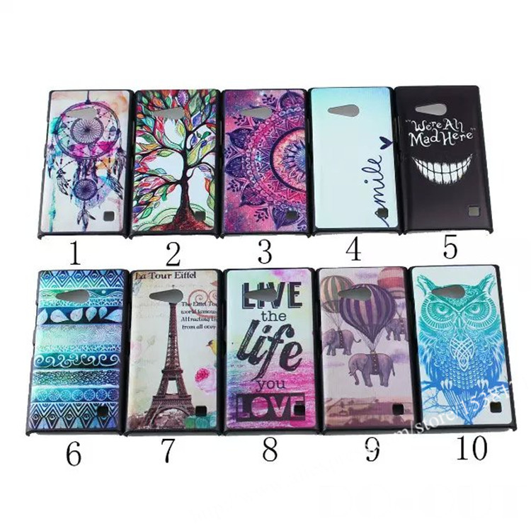 Coque Fundas cover carcasa Case Nokia lumia 730 735 N730 N735 Back Painting PC Hard Cover - Shenzhen Do-out technology Co.,Ltd store