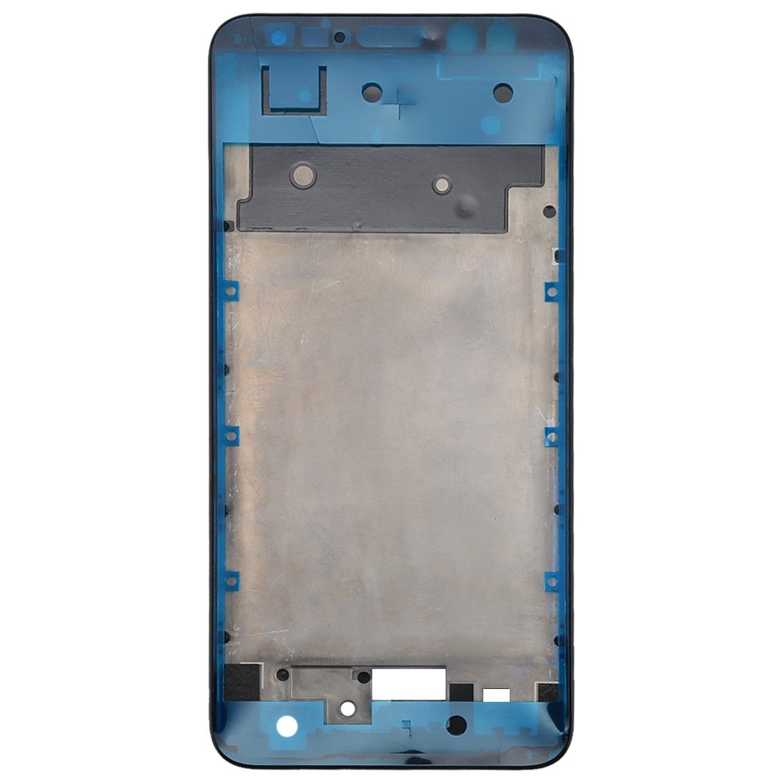 Для Huawei Mate 10 Lite/Maimang 6 Белый/Черный Цвет Передняя рамка корпуса с ушным спекатором Сетчатый Чехол