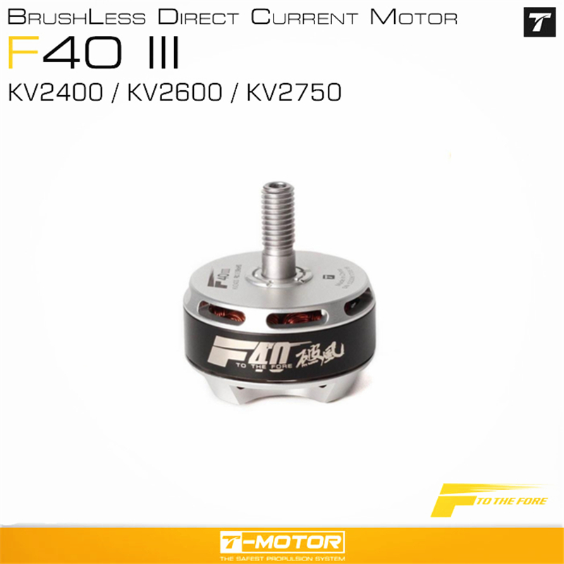 <font><b>T</b></font>-<font><b>Motor</b></font> <font><b>F40</b></font> <font><b>III</b></font> 2306 2400KV 2600KV 2750KV Brushless <font><b>Motor</b></font> for 210 220 250 260 RC Models Multicopter Quadcopter FPV Drones image