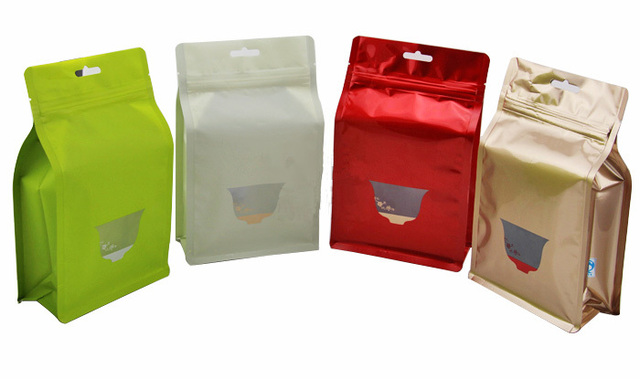 Very L size:17x*26*8cm color Self sealing plastic food bag/resealable  IU19