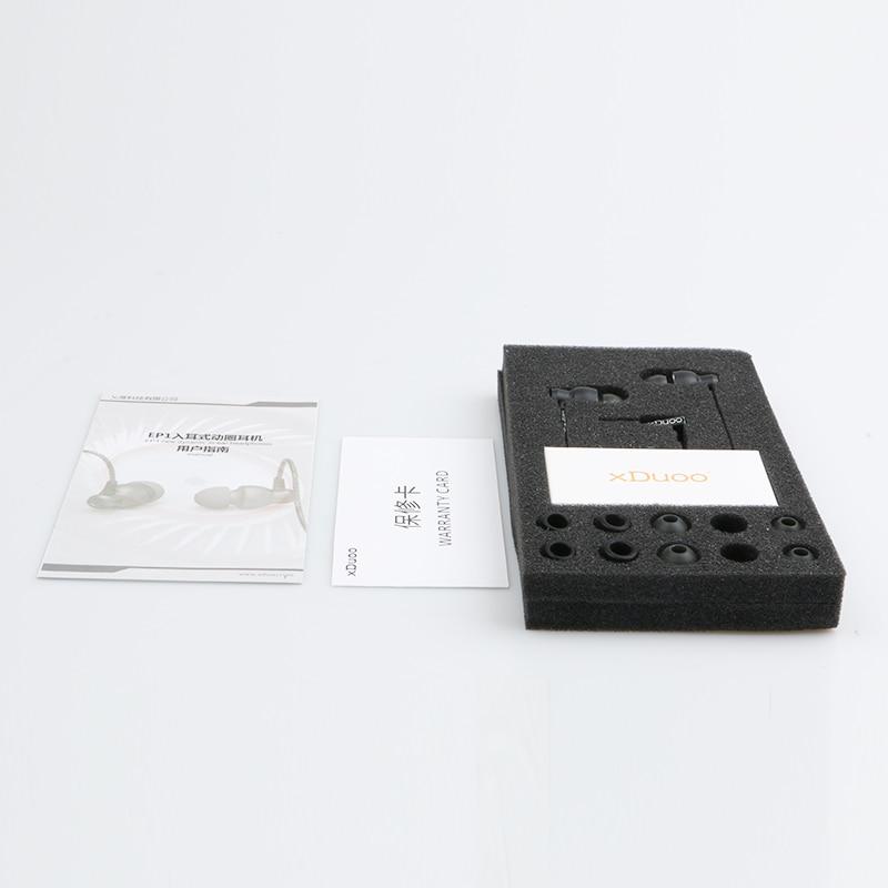 2017 Nueva Original XDuoo EP1 En Oído Auriculares Estéreo Corriendo - Audio y video portátil - foto 5