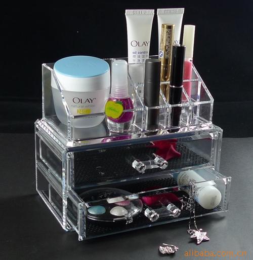 organizer box for jewelry storage box in acrylic makeup organizer cofre ikea  caixa organizadora 2pcs per. organizer box for jewelry storage box in acrylic makeup organizer