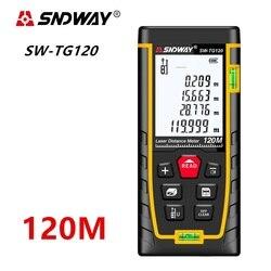 SNDWAY Laser distance meter Laser rangefinder Range finder trena Laser tape measure 40M 60M 80M 120M ruler Roulette Diastimeter