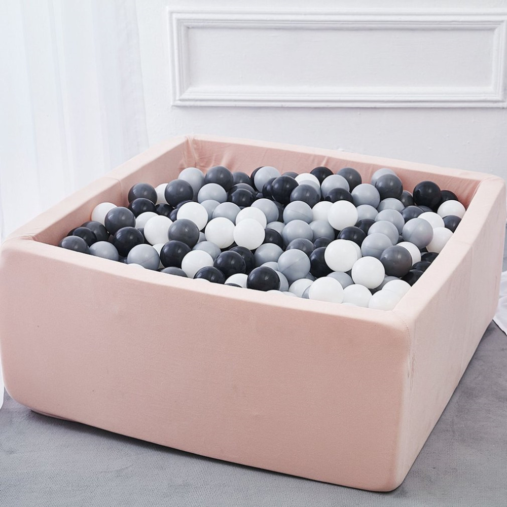 INS Children's Play House Baby Ocean Ball Pool Pit Grey Pink Blue Kids Fencing Manege Tent Square Play Ball Pits Toys Outdoor Fu кувшин ocean square