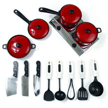 Kitchen Toys Play Set 13 Pcs Utensils Cooking Pots