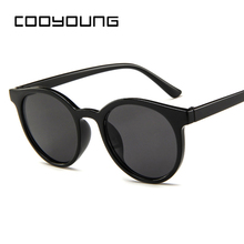 COOYOUNG Round Sunglasses Women Brand Designer Sunglases Wom