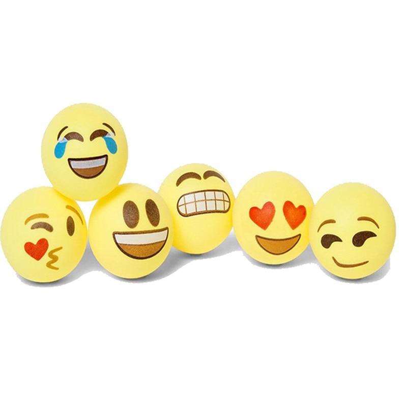 100 Assored emoji beer pong balls 4