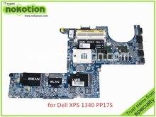 laptop motherboard for dell XPS 1340 PP17S DA0IM3MBAG0 REV G CN-0K184D K184D Nvidia GeForce 9200M DDR3