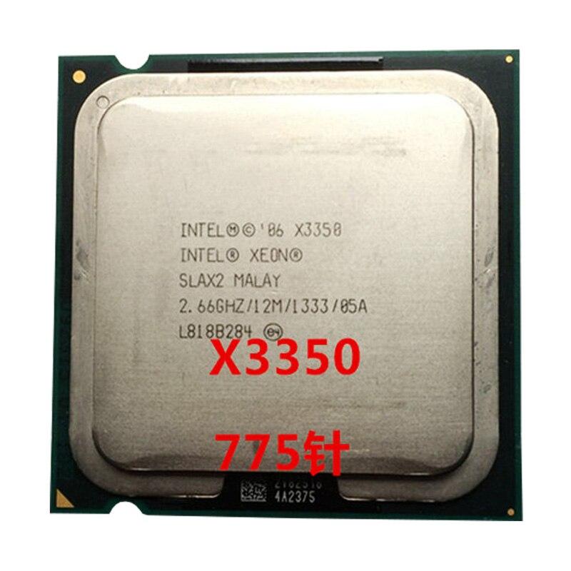INTEL Xeon Quad Core X3350  Cpu (2.7GHz /12M Cache /FSB 1333 )still Have Sale  Intel X3350 LGA775 CPU