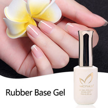 Sunn UV Primer Soak Off Langvarig Gummibase Tykkere Gel For Nail Art Gel Lacquer 12ml MICHEY
