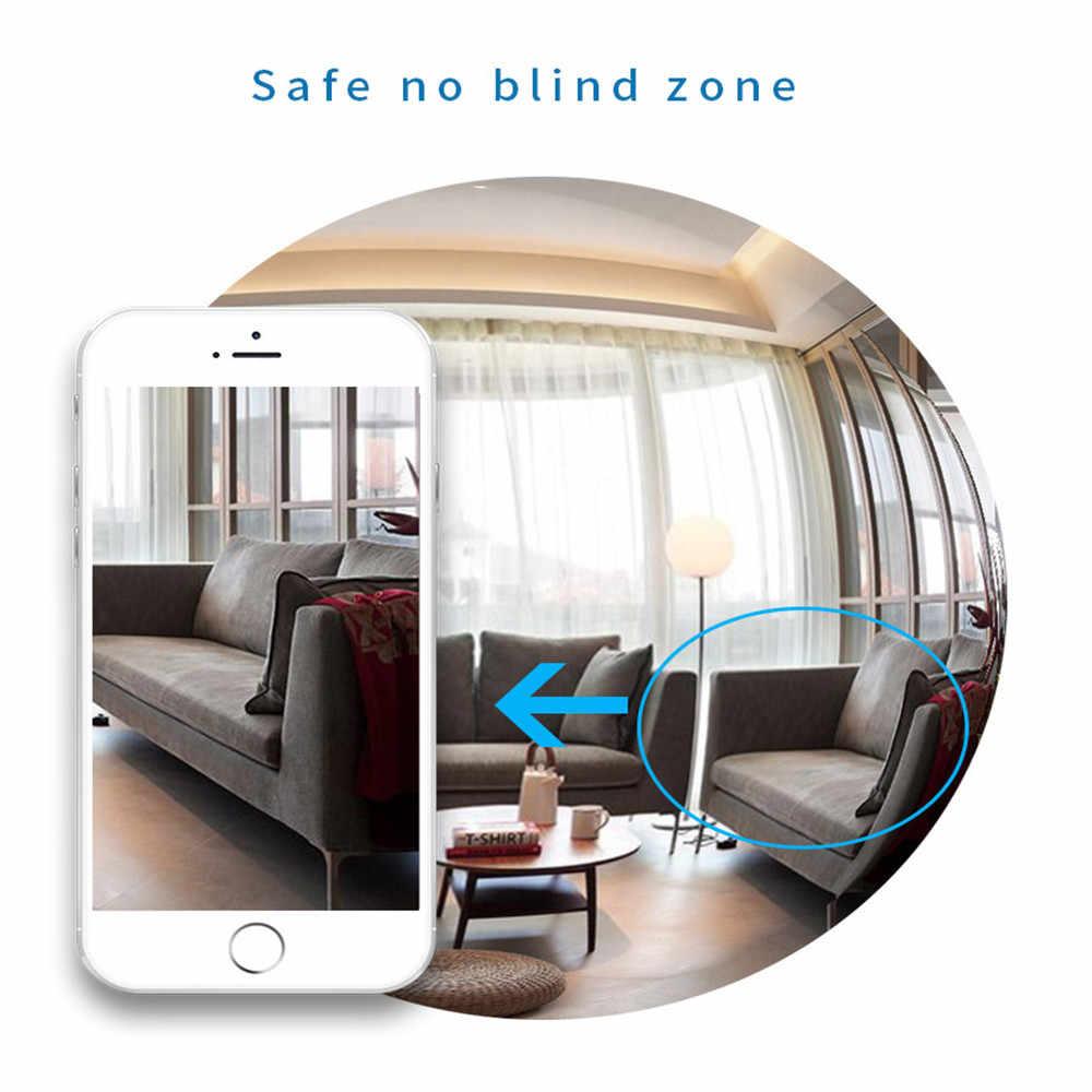 ذكي مراقبة كاميرا لاسلكية لمبة شبكة WiFi الهاتف عن بعد الأمن ضد عالية الوضوح للرؤية الليلية الأشعة تحت الحمراء