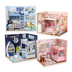 Dollhouse DIY Doll House Minia