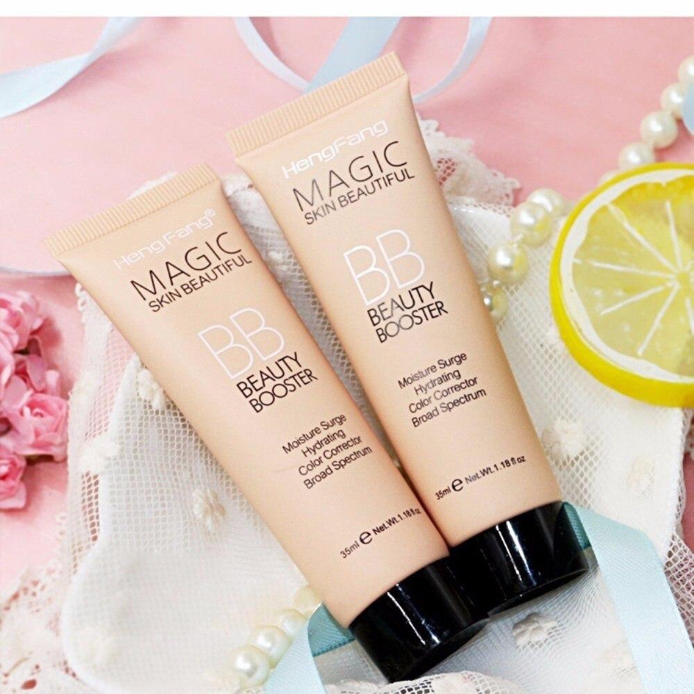 Новинка, профессиональный Осветляющий базовый BB крем, набор для макияжа, Солнцезащитный блок, стойкий водонепроницаемый отбеливающий крем для лица, брендовая корректирующая основа, TSLM2
