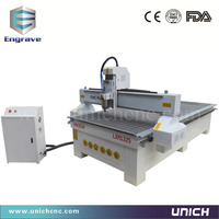Efficient 1300x2500mm 3 axis cnc routers