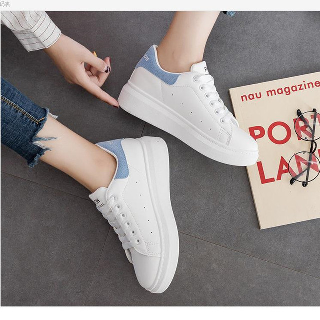 Sneakers women's 2019 breathable mesh casual shoes women's fashion sports shoes with high-grade casual women's shoes 2