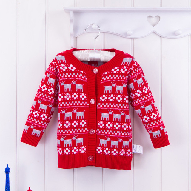 Children Sweater Spring Autumn Outwear Knitting Sweaters Baby 2016 Children Clothing Toddler Girls Boys Clothes Knit Cardigan