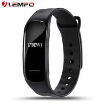 Lemfo C1 smart Сердечного ритма Мониторы Шагомер напоминание браслет Фитнес трекер высокое качество