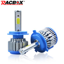 RACBOX Plug&Play Turbo H4 Car Led Headlight H7 Bulb H8 H9 H11 9005 HB3 9006 HB4 Lamp Running Light Canbus Automobile 12V(China)