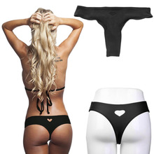 Sexy Strechy Womens Girls Bottom Bikini Heart Cut Swimwear Beachwear Briefs Intimates And Panties Polyamide Spandex 2017 hot
