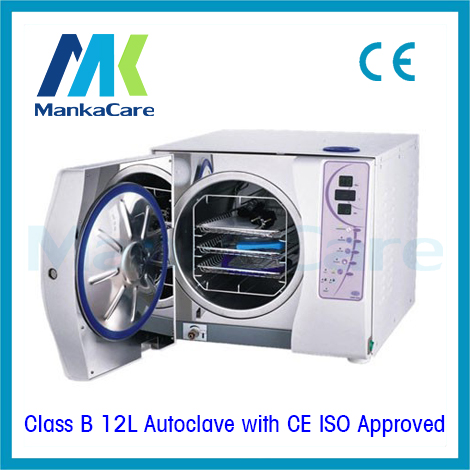 High Quality - Autoclave 12 L without printer Lab Medical Dental 3 times Vacuum sterilization Machine Clinic Dentist Tool autoclave 12 liters dental sterilizer class b without printer medical dental lab equipment disinfection cabinet discount