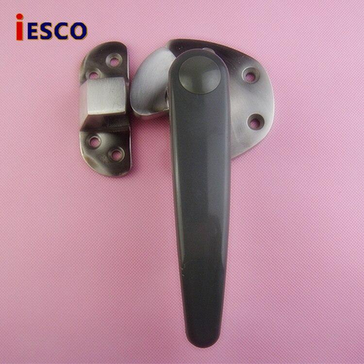 IESCO stainless steel oven handle cold door hinged oven handle lock flat door hinge truck cabinet handle