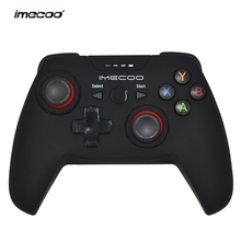 IMECOO 2.4GHz Gamepad Wireless Game Controller Joypad with Bracket for PS3 Windows PC Android Phone Tablet TV Box Joystick