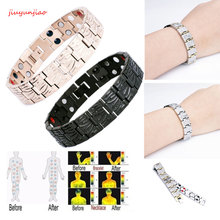 Fashion Magnetic Slimming Bracelet Fashionable Jewelry For Man Woman Link Chain Weight Loss Bracelet