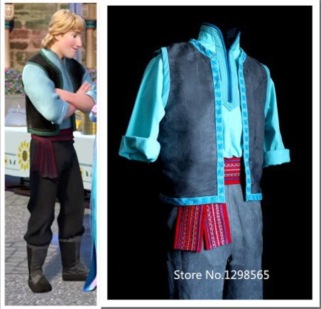 Free Shipping Kristoff Costume Adult kristoff Costume Mens Kristoff Cosplay Costume on Aliexpress.com | Alibaba Group & Free Shipping Kristoff Costume Adult kristoff Costume Mens Kristoff ...