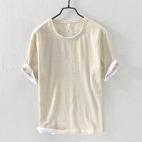 New style short sleeve cotton t-shirt men solid khaki t shirt mens summer brand tshirt male casual loose t shirts chemise