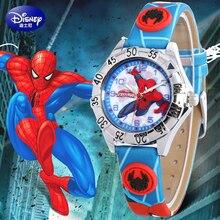 Genuine Disney brands kids watch children's wristwatches Boys waterproof quartz boy watches Leather clocks relogio student 2017