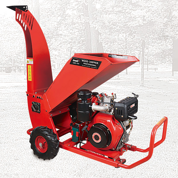 Diesel Engine Wood Chipper Shredder, CXC 701-1 Branch Shredder, Garden Shredders