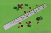 Maple Guitar Fretboard Fingerboard with Tree Vine Inlay 24 Fret 25.5inch Guitar Accessories