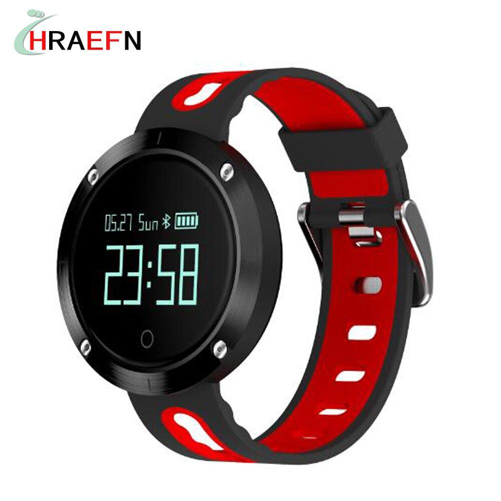 Smart band DM58 Waterproof Smart Wristband Heart rate monitor Blood Pressure Watch Smart bracelet Fitness Tracker